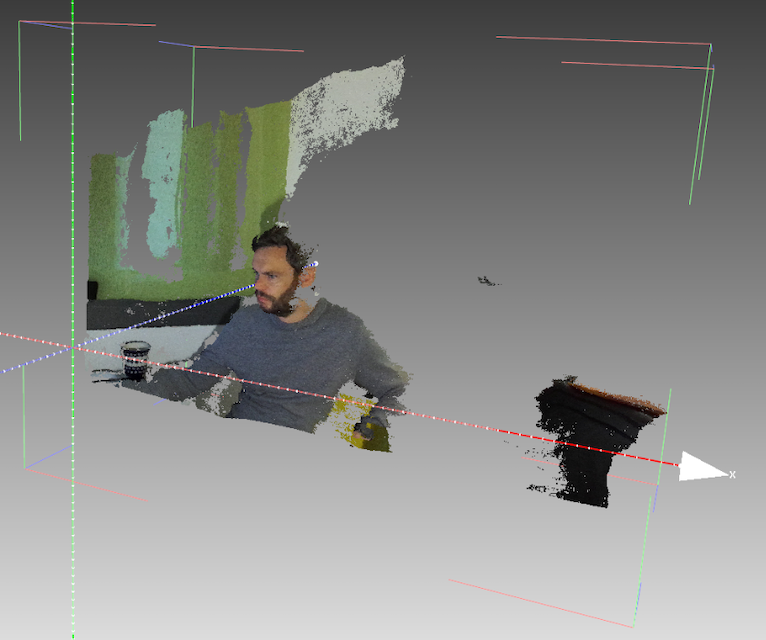 Point Cloud from ZED-2